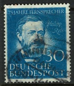 Germany 693 Used - Telephone Service - Philipp Reis (1952)