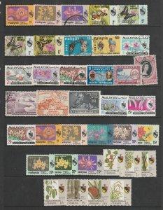 Negri Sembilan a small collection post 1950 mainly M & U
