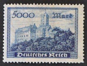 DYNAMITE Stamps: Germany Scott #237 – MINT hr