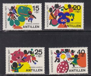 Netherlands Antilles # B147-150, Children & Toys, NH, 1/2 Cat.