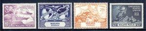 Malaya (Malacca) - Scott #18-21 - MNH - SCV $4.25