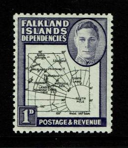 Falkland Islands SG# G2 MNH / Broken Arc Variety (See Notes) - S6041