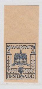 Finsterwalde WWII Germany World War II Local Stamp 1946 20+10pf MNH** A20P4F188