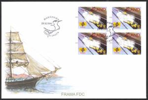 Finland Aland Islands FDC 1999 Frama