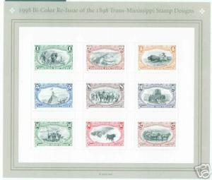 USA Scott 3209 Tran-Mississippi Sheet CV $9
