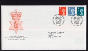 Great Britain Northern Ireland NIMH83,NIMH93,NIMH96 Typed FDC