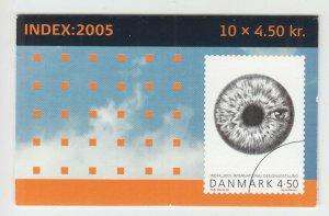 Denmark Sc 1337 Intact Booklet. 2005 International Design Exhibition, VF