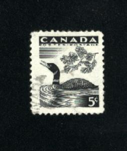 Canada  369  - 2  used VF PD 1957