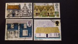 Great Britain 1970 British Rural Architecture used