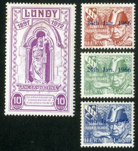 Lundy Island Stamp Collection Lot of More than 200 Stamps Mint NH RARE!