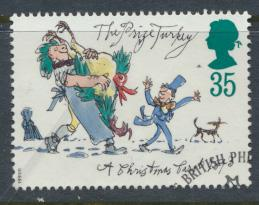 Great Britain  SG 1793 SC# 1531 Used / FU with First Day Cancel - Christmas 1993