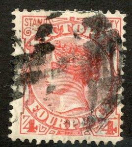 Victoria, Scott #163, Used