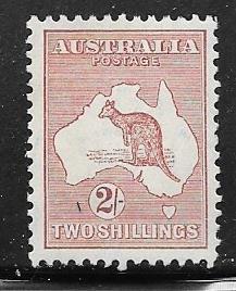 Australia #125  2sh  (MLH) CV $12.50