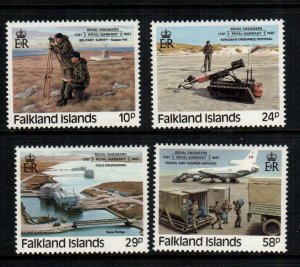 Falkland islands  457 - 460   MNH cat $ 9.35