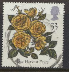 Great Britain SG 1571    Used  - Roses Belfast
