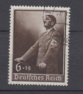 J28689, 1939 nazi germany set of 1 used #b140 hitler swastika