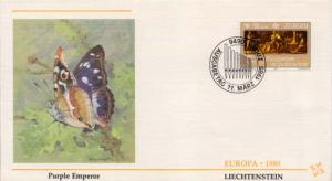 Liechtenstein, First Day Cover, Europa