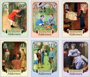 Alderney 2021 MNH Stamps Literature The Secret Garden Frances Hodgson Burnett