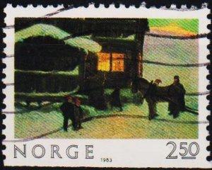 Norway. 1983 2k50 S.G.925 Fine Used