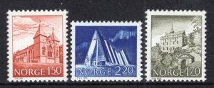 Norway 772-724 Architecture MNH VF