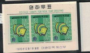 Korea SC 735a-6a MNH (7ewx)