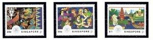 Singapore 634-36 MNH 1992 Visit ASEAN         (KA)