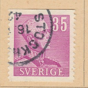 A5P56F72 Sweden 1940-42 Perf 12 1/2 vert 35o used
