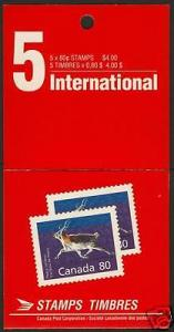 Canada 1180b Booklet BK129 sealed MNH Peary Caribou