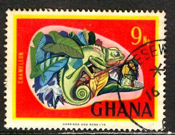 Ghana; 1967: Sc. # 294: O/Used Single Stamp