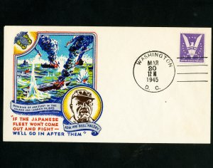 US Stamp #905 On Fluegel Cover Unaddressed color First Day cover, unaddressed