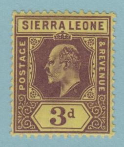 SIERRA LEONE 95a MINT HINGED OG * NO FAULTS EXTRA FINE !