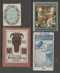 Europe mostly mint Cinderella stamp- Free Shipping- great prices 4-23b-10