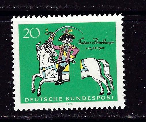 Germany 1020 NH 1970 issue