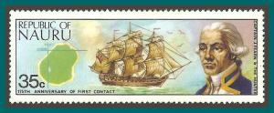 Nauru  1974 First Contact, Captain Fearn, MNH  #112,SG120