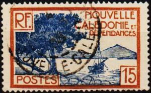 New Caledonia. 1928 15c S.G.143 Fine Used