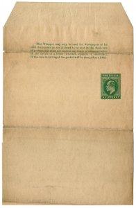 (I.B) Orange River Colony Postal : Newspaper Wrapper ½d