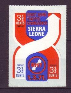 J24482 JLstamps 1971 sierra leone set of 1 mnh #415 traffic pattern