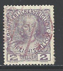 Austria Sc # 111a used (DDT)