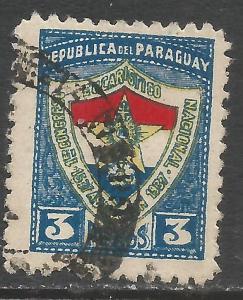 PARAGUAY 339 VFU Z5743-1