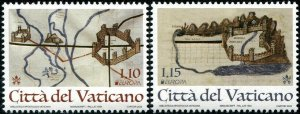 HERRICKSTAMP NEW ISSUES VATICAN EUROPA 2020 Ancient Postal Routes