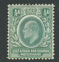 East Africa & Uganda SG 17 MH