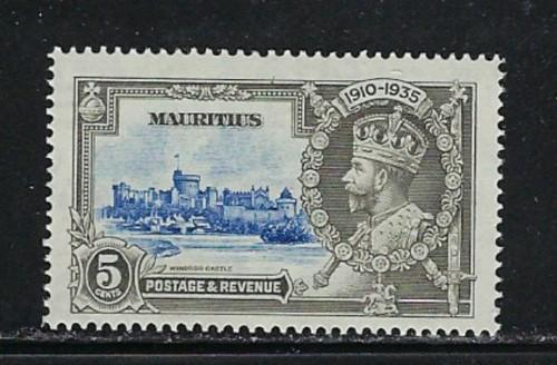 Mauritius 204 Hinged 1935 Issue