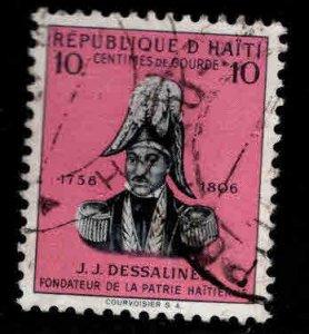 HAITI Scott 408 used stamp