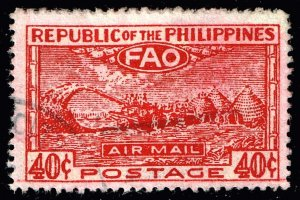 Philippines1948 United Nations Food and Agriculture Org. STAMP USED $25