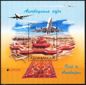 Azerbaijan 2012 Europa CEPT Visit S/S MNH**