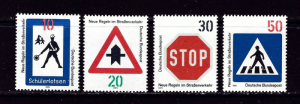 Germany 1055-55 NH 1971 Safety Signs