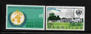 Mauritius 1973 WHO and International Meteorological cooperation MNH A201