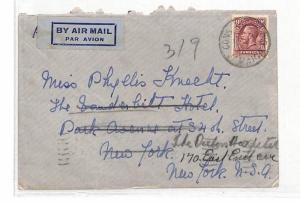 DD78 1936 Jamaica New York USA Cover {samwells-covers}PTS