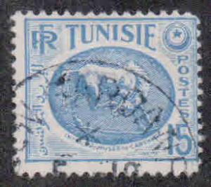 Tunisia # 228 ~ Used, HM