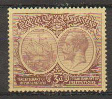 Bermuda SG 62  Mint  Hinged - good centering
